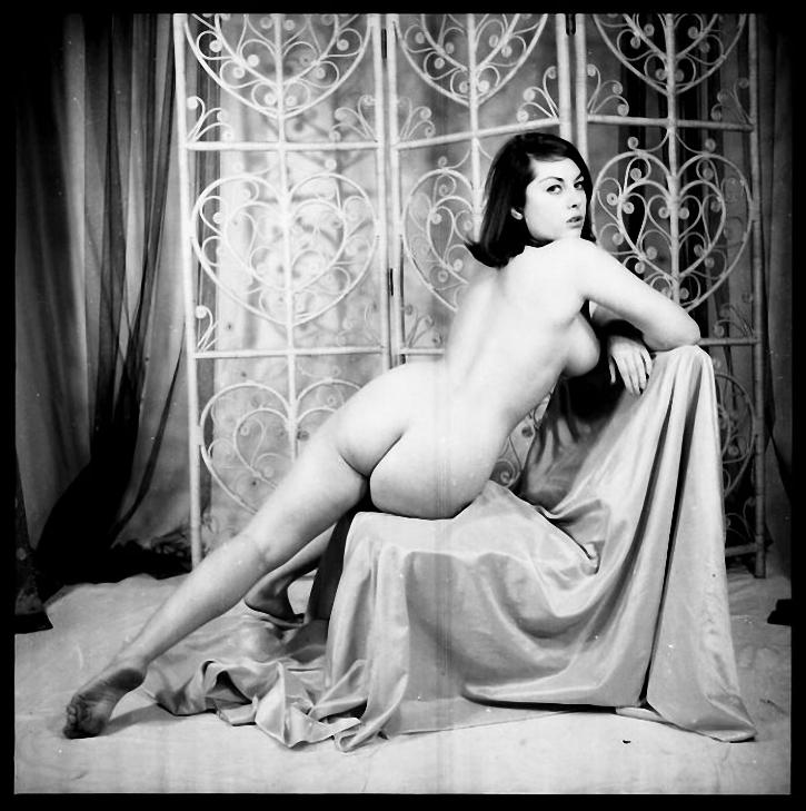June Palmer - Nude-O-Rama Vintage Erotica, Art