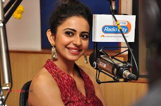 Actress Rakul Preet Singh Latest Pictures at Radio City  0184.JPG
