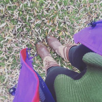 Walking amongst the Autumn Leaves
