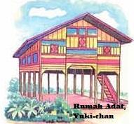 Desain Bentuk Rumah Adat Nanggroe Aceh Darussalam dan Penjelasanya, Rumah Adat Indonesia Barat