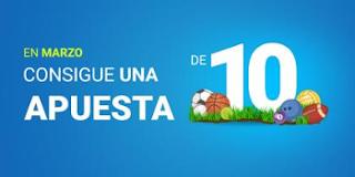 luckia consigue apuesta gratuita 10 euros marzo 2017