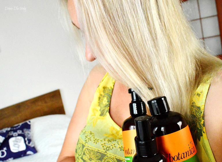 Kosmetyki do włosów Trico Botanica Hydrating Pro-Age; szampon, maska i olej