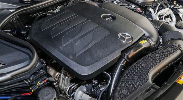 Động cơ Mercedes E350 AMG 2019 có khả năng vận hành mạnh mẽ và vượt trội