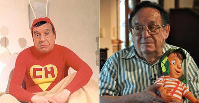 Chapolin Colorado e Roberto Bolaños super-herói latino SBT
