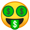 Money Face emoji