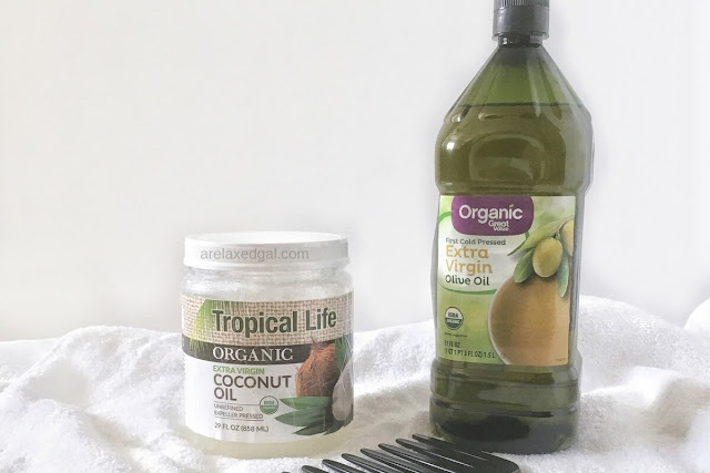 Penetrating natural oils that can be used on Chemically-treated hair | arelaxedgal.com