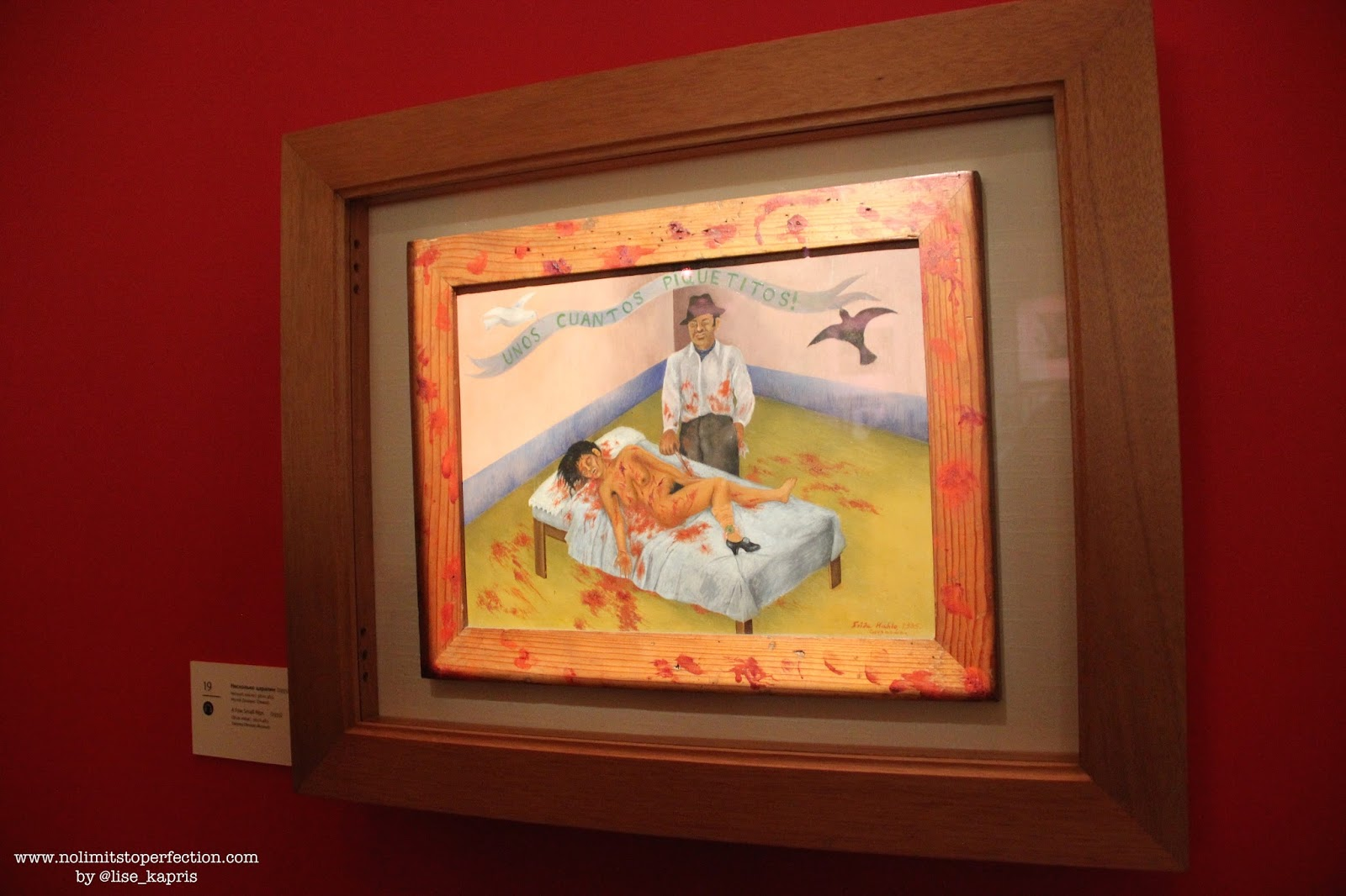 Фрида Кало в музее Фаберже