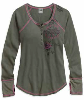 http://www.adventureharley.com/eagle-shield-waffle-knit-henley-by-harley-davidson-castor-grey-96012-17vw/
