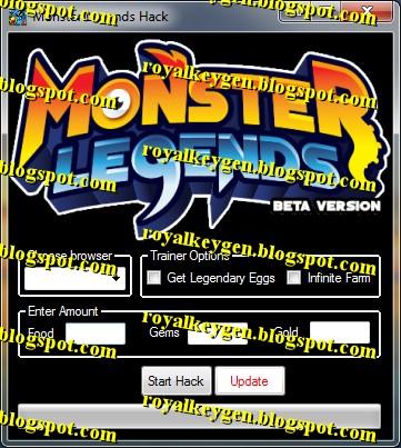Monster Legends Cheats Deutsch