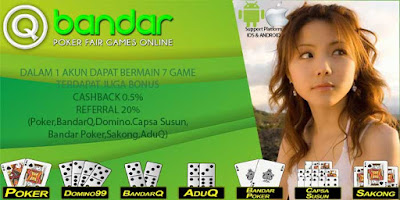 Bonus Cashback 2x Agen Judi Poker Online di QBandars.net
