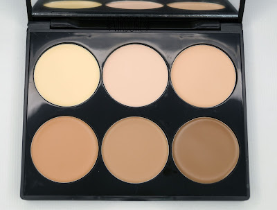 sleek makeup paleta contorno crema