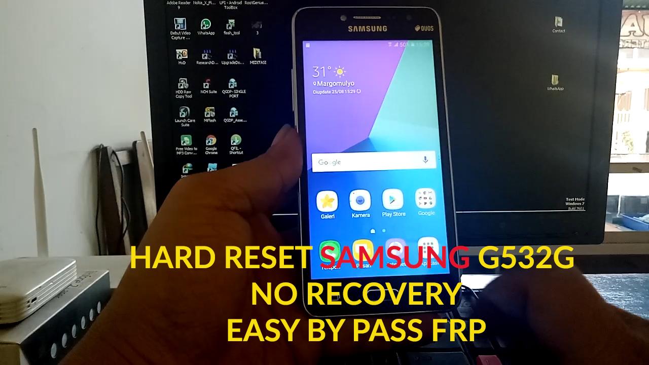 BYPASS FRP SAMSUNG J2 PRIME G532G NO RECOVERY - Service Hp Jogja