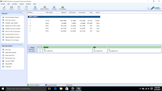 Convert Harddisk from MBR to GPT to install Windows 10 without Data Loss