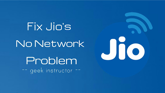 Fix no network problem in Jio