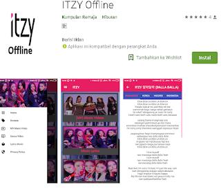 Ulasan Lengkap Aplikasi ITZY Offline