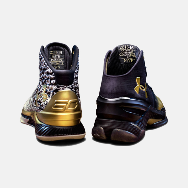brand new 42389 873dd Pack includes one pair of Limited Edition Curry One Basketball Shoes  one  pair of Limited Edition Curry Two Basketball Shoes, celebrating Stephen  Currys ...