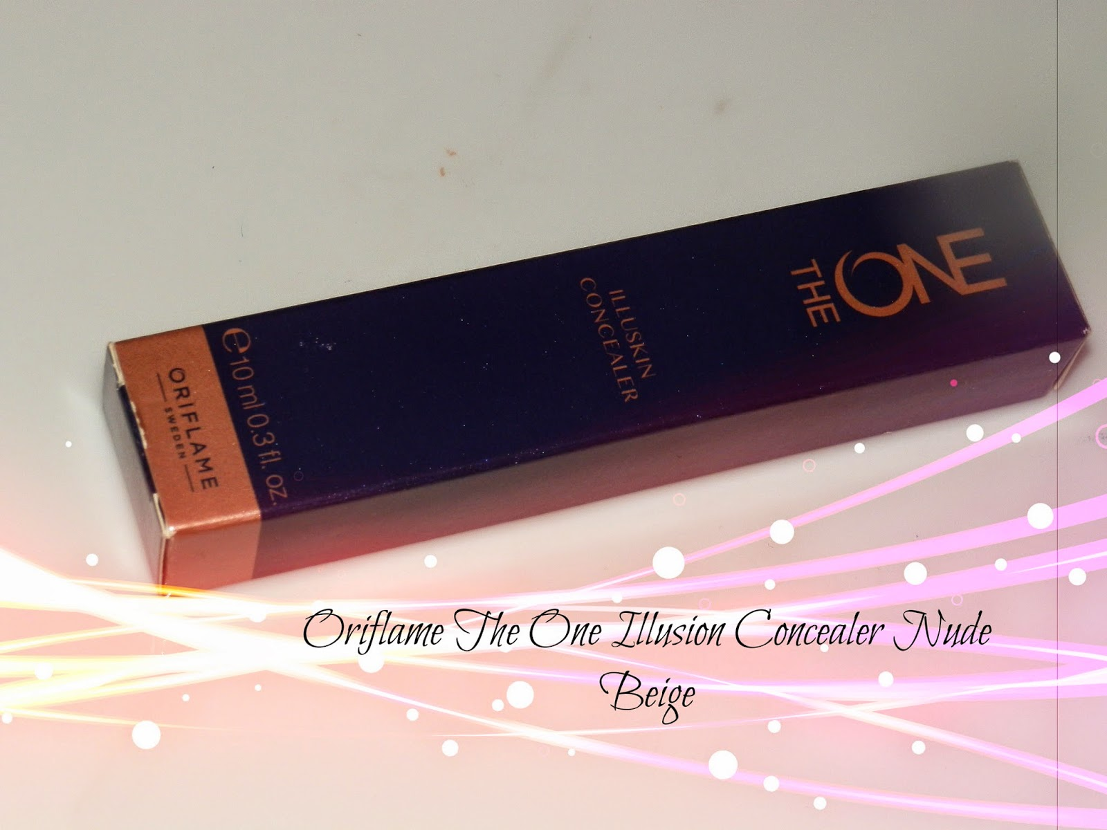 Oriflame The One Illusion Concealer Nude Beige Swatches