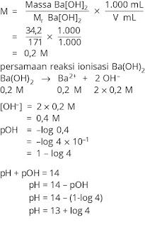 Pembahasan Soal kimia bab asam basa nomor 7