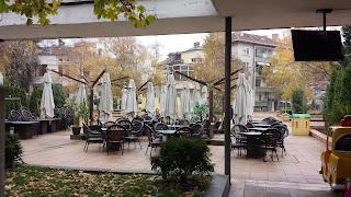 Cafe, No Customers, sub zero, Temperature, Yambol,