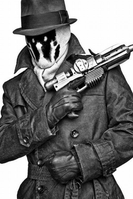 Rorschach from the Watchmen
