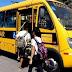 MP flagra ônibus escolares levando pessoas à praia; um deles veio do Cariri