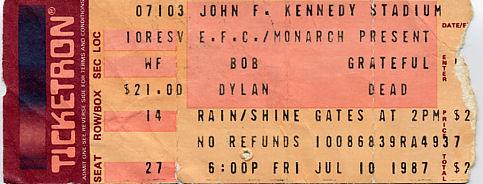 Grateful Dead, July 10, 1987