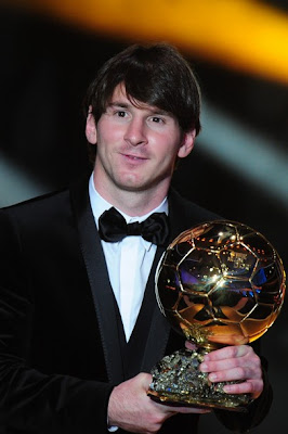 Lionel Messi Named World Footballer of the Year