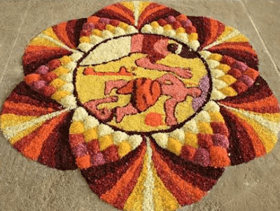 onam pookalam latest designs