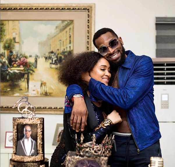 D'banj and his wife celebrate 4th wedding anniversary
