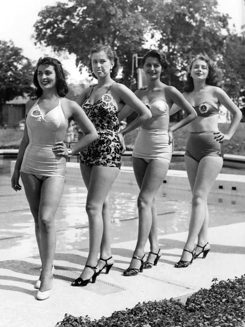 Rare Photographs Of A Teenage Sophia Loren At The Miss