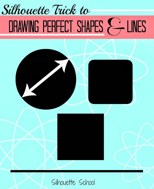 perfect circle, perfect square, straight line, silhouette america blog, silhouette 101