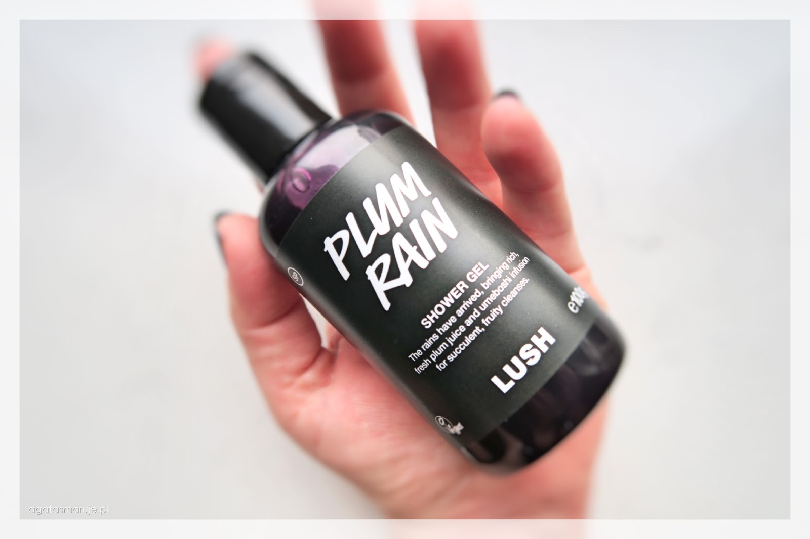 Lush Plum Rain opinie review