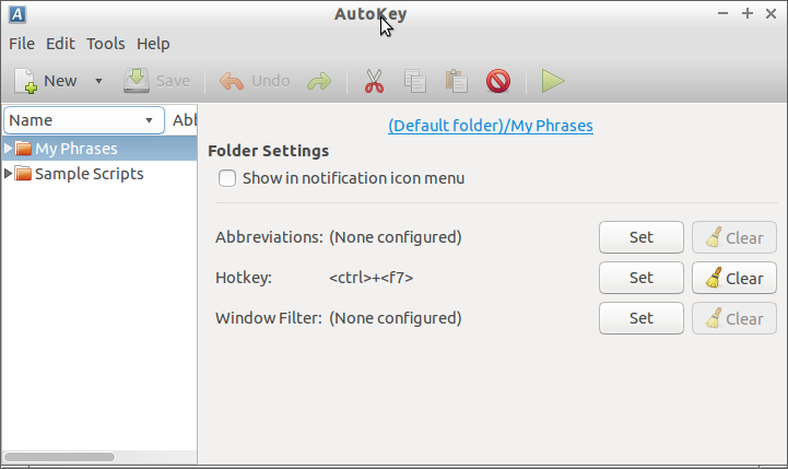 Techful Spot: Remapping keys in Linux Using Autokey