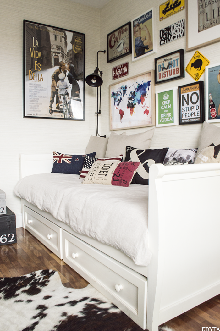 Edyta dise o decoraci n blog de decoraci n antes y - Decoracion de paredes de dormitorios juveniles ...