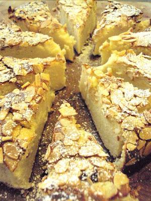 Damp Apple And Almond Cake