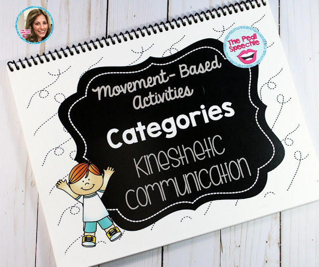 categories speech therapy- movement activities for kids in speech and language therapy