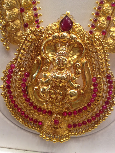 2 In 1 Vaddanam And Kasu Haram Jewellery Designs