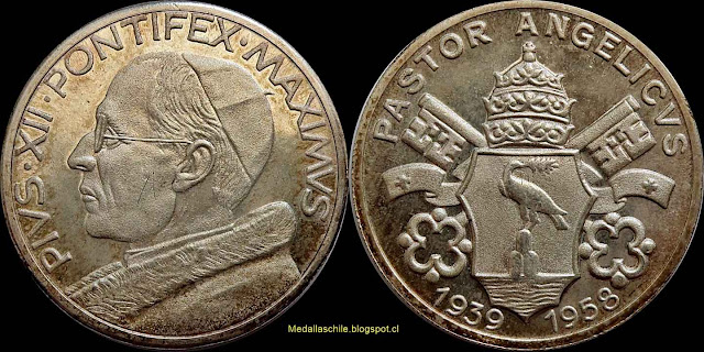 PIVS XII PONTIFEX MAXIMVS