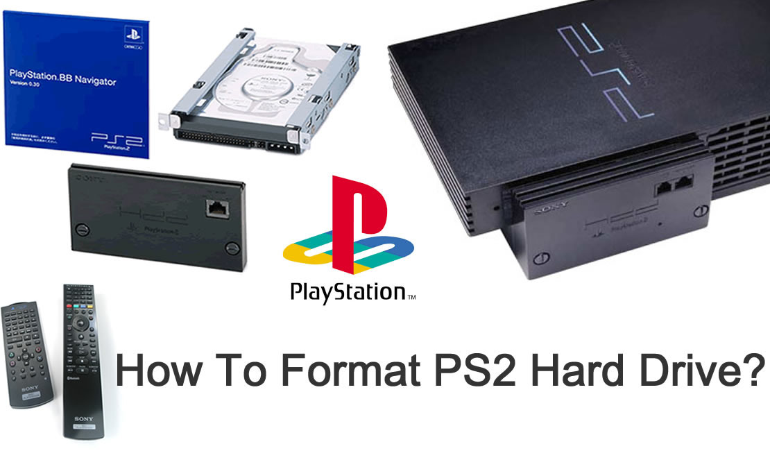 How To Format PS2 Hard Drive HDD - How To Fix & Repair Things Yourself