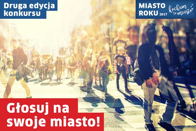 Rzeszów walczy w plebiscycie Kocham to Miasto – Miasto Roku 2017!