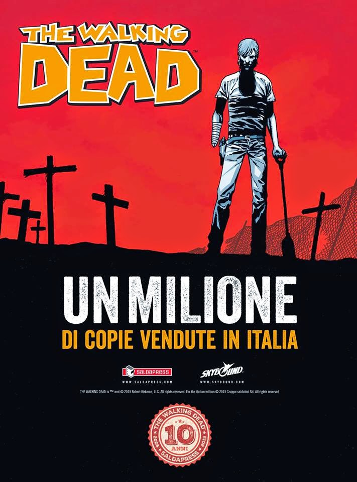 The Walking Dead- 1 Milione di copie