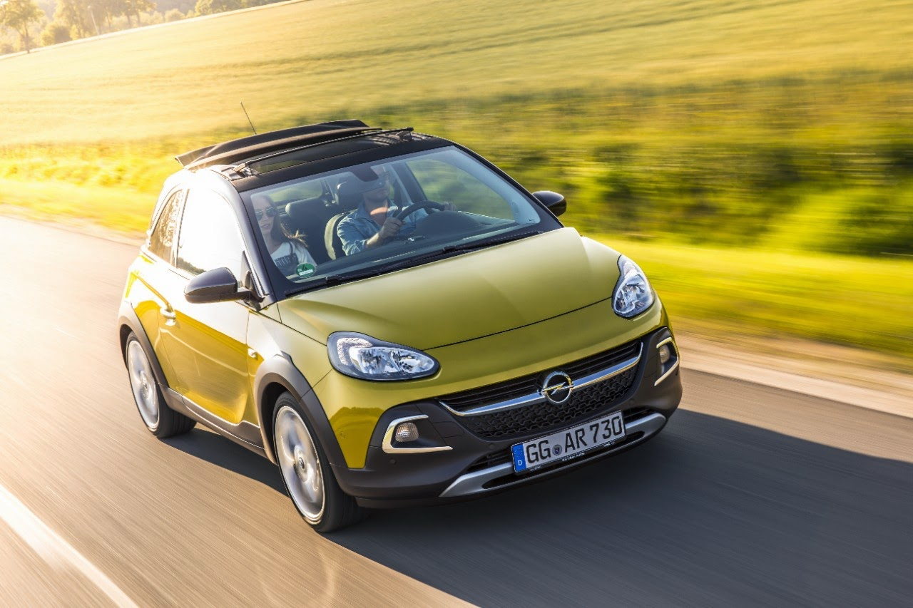 Το Νέο Opel ADAM ROCKS με νέο 1.0 ECOTEC Direct Injection Turbo με 90 και 115 hp