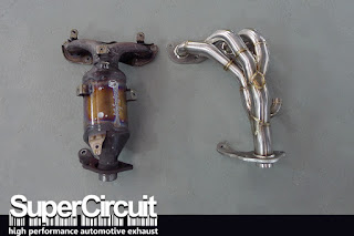 SUPERCIRCUIT 4-2-1 Extractor made for the Perodua Bezza 1.3L 1NR-VE engine