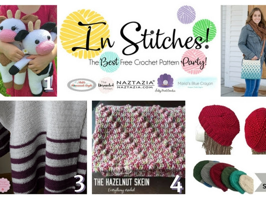In Stitches - Best Free Crochet Pattern Link Party Week #9