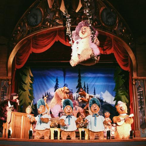Country Bear Jamboree Walt Disney World