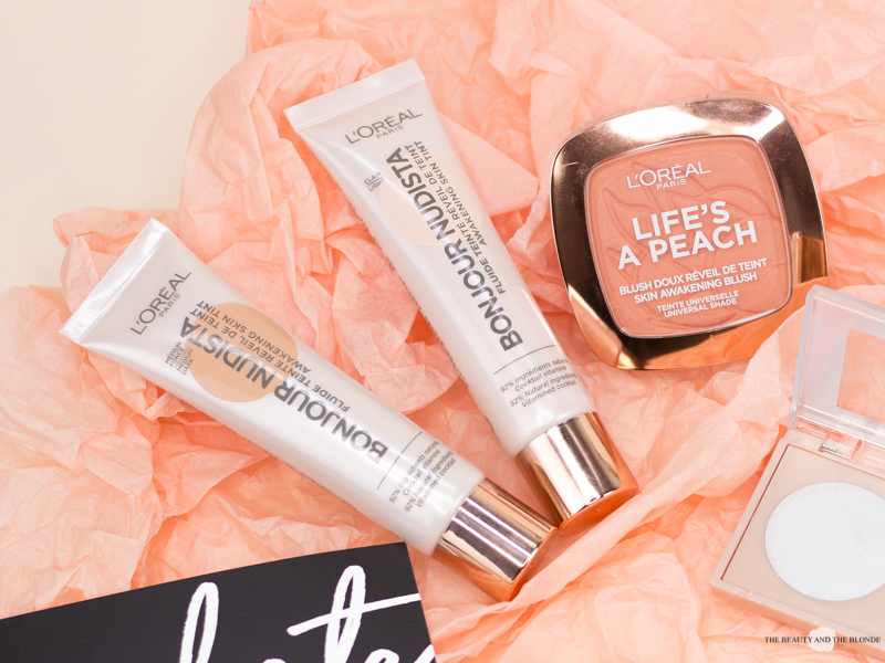 L'Oréal Wake Up And Glow Sommerkollektion Summer Collection Bonjour Nudista Awakening Skin Tints Swatches