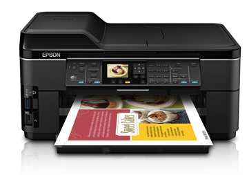Epson WorkForce WF-7510 printer