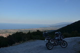 Greece Motorcycle Tour, Mount Olympus