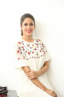 Lavanya Tripathi in Summer Style Spicy Short White Dress at her Interview  Exclusive 109.JPG