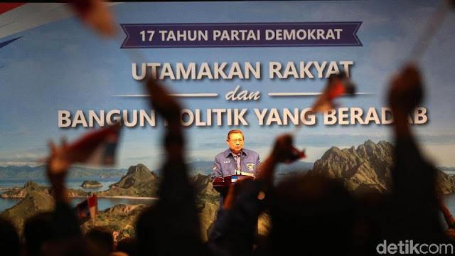 Gempa Sulteng, SBY Imbau Kampanye Pilpres Dihentikan Sementara